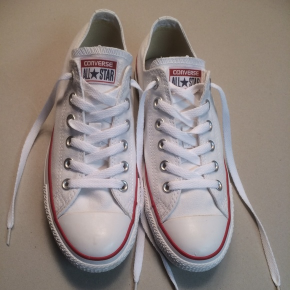 4fef5877ec25 Converse Other - White Converse All Star Unisex Sneakers